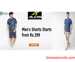 ALCIS Coupons, Deals & Offers: Get Men's Shorts From Rs. 399
