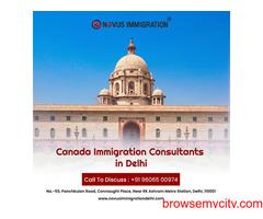 Canada Visa Consultants in Delhi | Novusimmigrationdelhi.com
