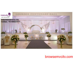 Melodia Events | Wedding Stage Decorations in Thrissur, Ernakulam, Kerala