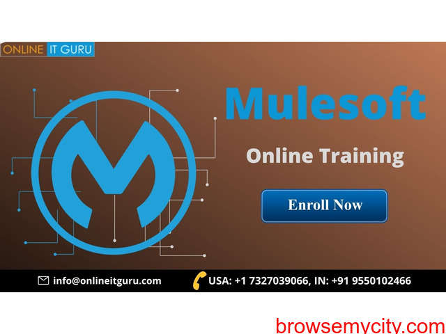 Learn mulesoft online | mule esb training - 1/1