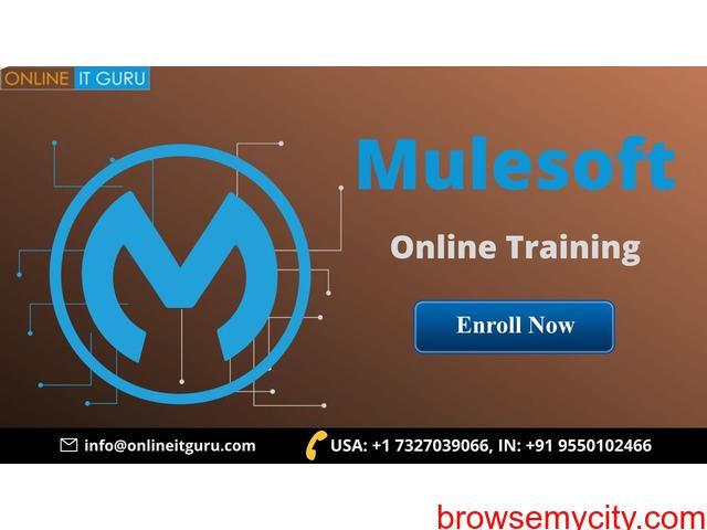 Learn mulesoft online | mule esb training - 1/1