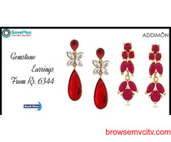 Addimon Coupons, Deals & Offers: Gemstone Earrings from Rs.6344
