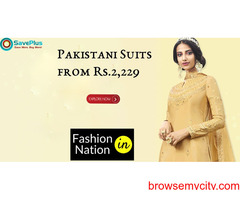 Fashion Nation Coupons, Deals & Offers: Get Pakisthani Suits from Rs. 2229