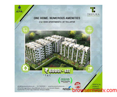 Apartments In Tellapur | Tripura Constructions