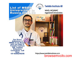 Best Medical College In Russia 2021 Twinkle InstituteAB