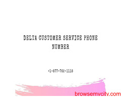 Get an effective customer support on Delta Support +1-877-762-1118