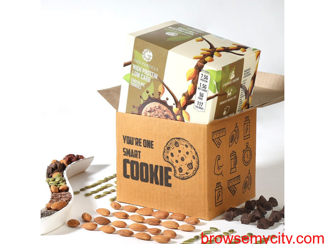 High protein snacks    Buy High Protein cookies online - 1/1