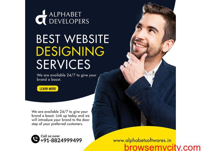 Alphabet Developers LLP - Best Website Designing Services - 1/1