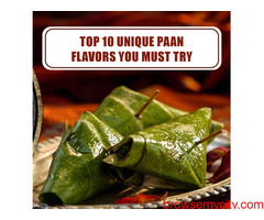Top 10 Unique Paan Flavours You Must Try