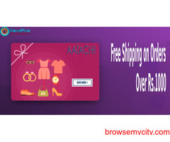Aatachi Coupons, Deals & Offers: Free Shipping on Orders Over Rs.1000