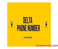 Get quick service on Delta Customer Service Number +1-877-754-0099
