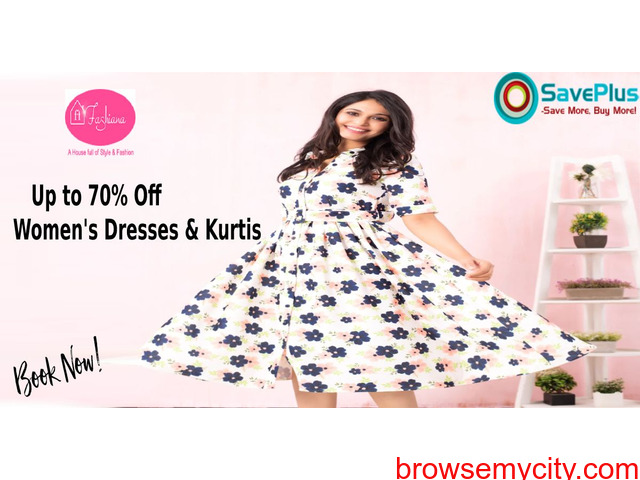 Up to 70% off Women's Dresses - 1/1