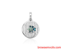 Buy Unique & Fancy silver pendant sets for women online - Arnia