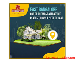 Gated community layouts for sale in east Bangalore