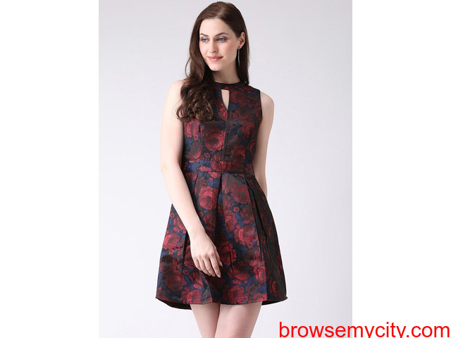Stylish Red Dresses For Women Available At Affordable Price - 1/1