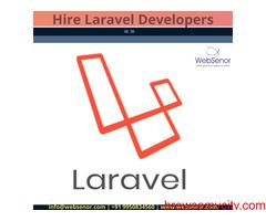Hire Laravel Developer - Websenor Infotech (IT company)