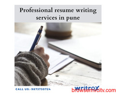 Professional resume writing services in delhi