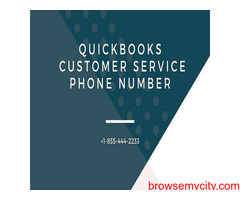 Get immediate help on QuickBooks Customer Service Number +1-855-444-2233