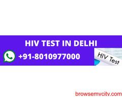 HIV online testing centers delhi