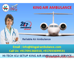 Best ICU Services by King Air Ambulance in Guwahati for Relocation