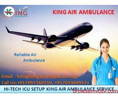 Air Ambulance Services in Raipur are Available with Full Medical Support