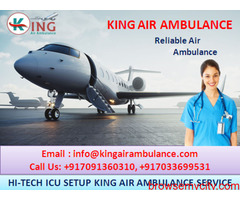 Top & Easy Booking Air Ambulance Services in Varanasi by King Ambulance