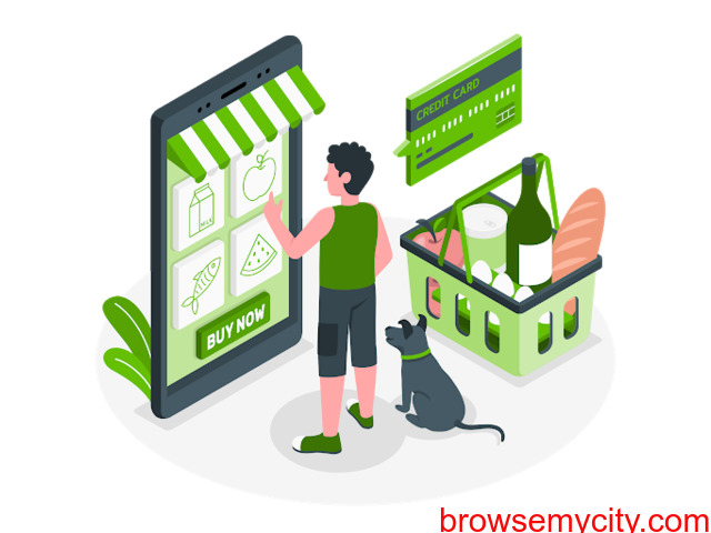Grocery Shopping Online in India - 1/1