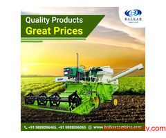 Straw Combine Harvester at Best Price