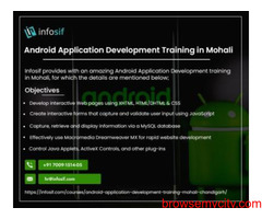 Android Training in Chandigarh | INFOSIF