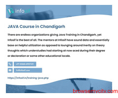 Java Course in Chandigarh | INFOSIF