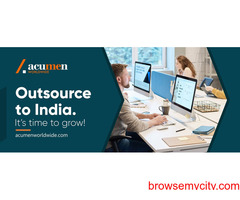 Get the best offshore office in India with Acumen Worldwide