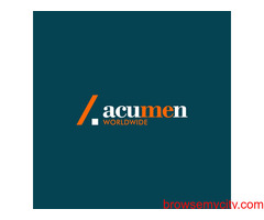 Get creative & authentic graphics with Acumen Worldwide.
