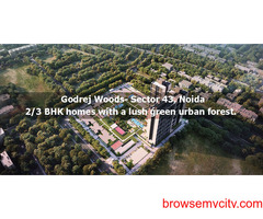 Godrej Woods Noida- Luxury 2 & 3 BHK Homes! Call 9266850850