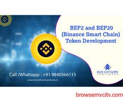 BEP2 and BEP20 (Binance Smart Chain) Token Development – MLM Software Tamilnadu