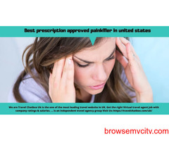 Best prescription approved painkiller in united states
