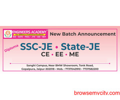 Best SSC-JE coaching in Jaipur - Engineers Academy