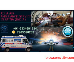 Get an Air Ambulance Service to move a Covid patient fast  ASHA