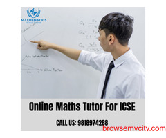 Online Maths Tutor for ICSE