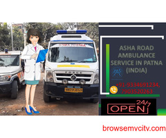 Hire a Road Ambulance Service with the best medical equipment to Covid patient's  ASHA