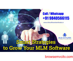 Smart Strategies to Grow Your MLM business with advanced MLM Management Software