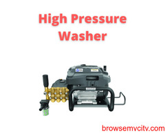 Go for the versatile high pressure washer machine by Manmachine Works.