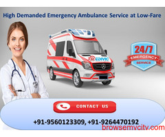 Excellent Life Support Ambulance Service in Bokaro by Medivic