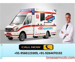 Low-Cost Medivic Ambulance Service in Rajendra Nagar, Patna