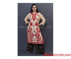 Kashmiri Cotton Saree