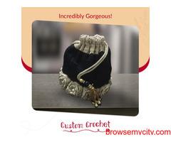 Custom crochet knitting class, style and elegance