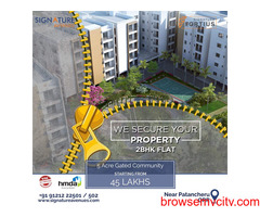 2BHK Flats for Sale in Patancheruvu