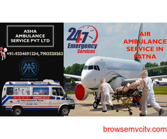 Dial on low cost Air Ambulance Service for Covid patient  ASHA