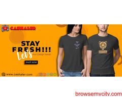 Buy Men's, women's t-shirts Online | Cashaler