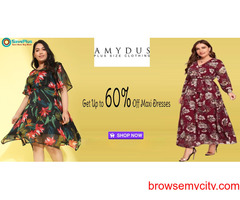 Amydus Coupons, Deals & Offers: Get Up to 60% Off Maxi Dresses