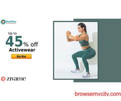 Zivame Coupons, Deals: Up to 45% off Activewear
